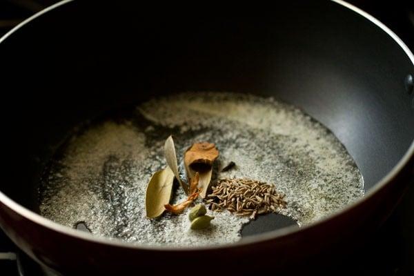 spices for mushroom butter masala recipe