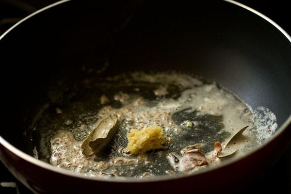 garlic for mushroom butter masala recipe
