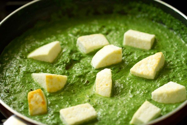 paneer for restaurant style palak paneer recipe