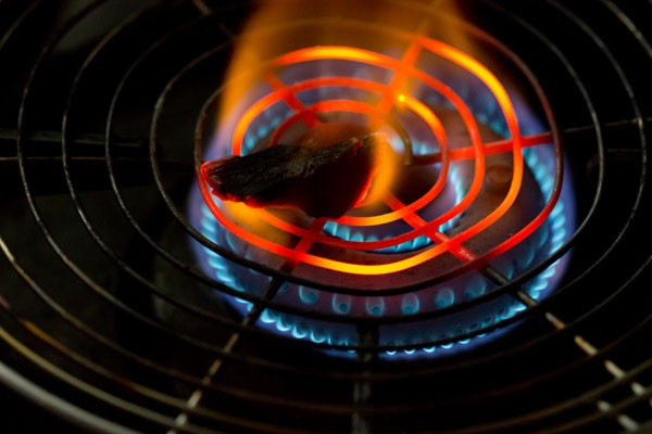 dhungar for restaurant style palak paneer recipe