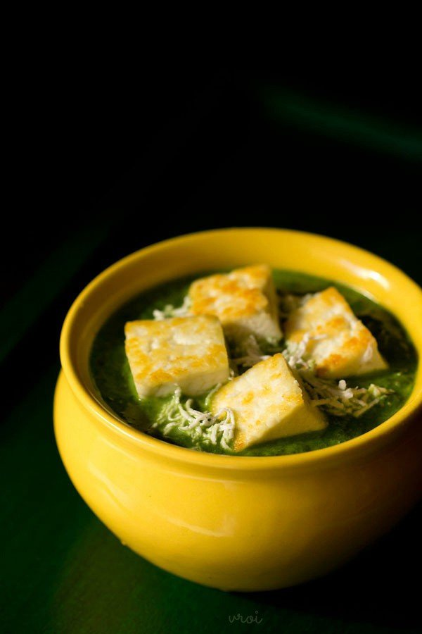 Palak paneer recipe restaurant style how to make palak paneer recipe palak paneer restaurant style forumfinder Image collections