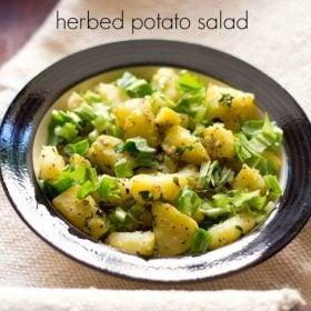 potato salad recipe, aloo salad recipe