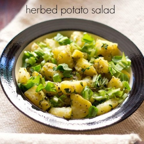 potato salad recipe, aloo salad recipe