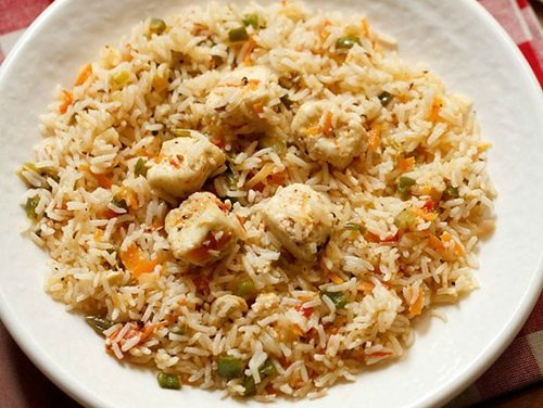 Paneer fried rice recipe how to make paneer fried rice recipe paneer fried rice recipe ccuart Choice Image