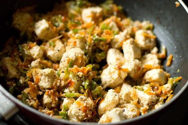 paneer for paneer fried rice recipe