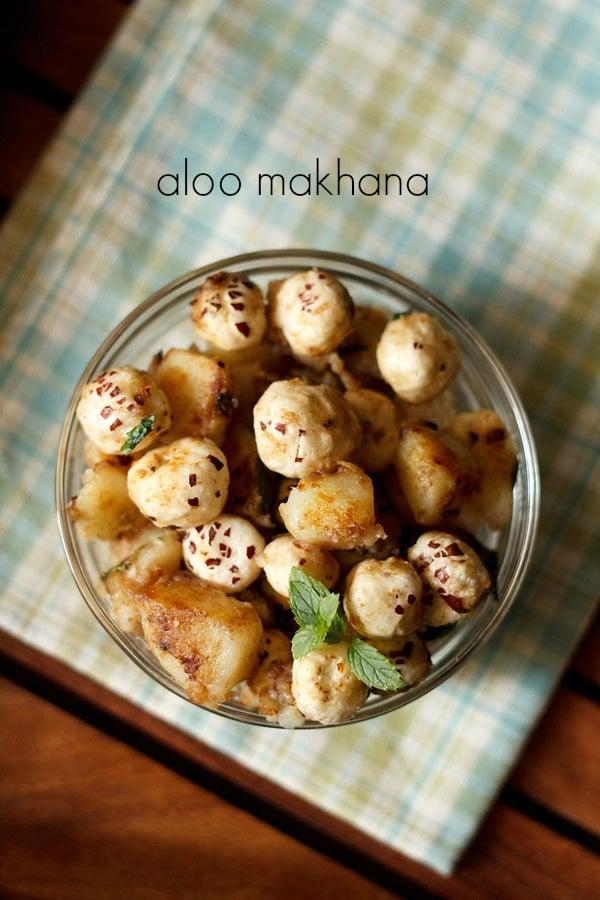 aloo makhana