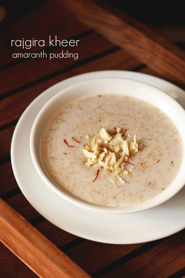amaranth kheer recipe