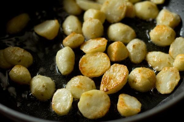 potatoes for baby potato biryani recipe