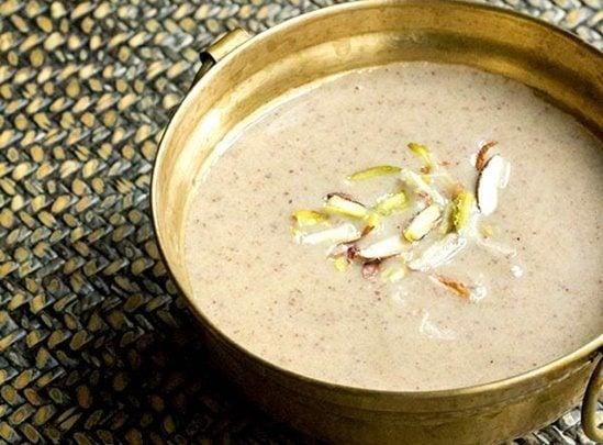 besan kheer recipe