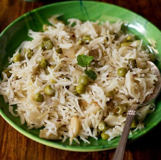 coconut milk rice recipe, coconut milk pulao recipe