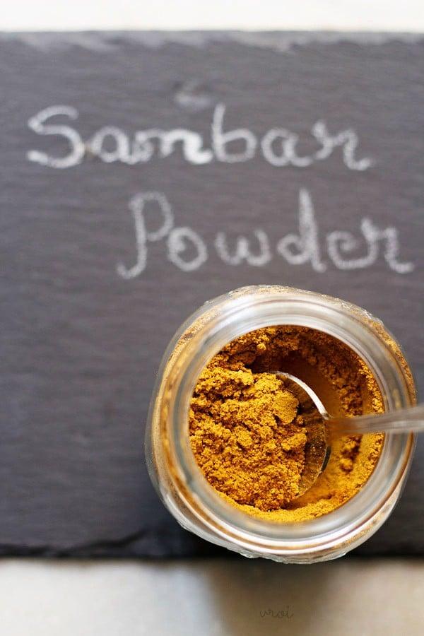 sambar powder, sambar podi, sambar masala