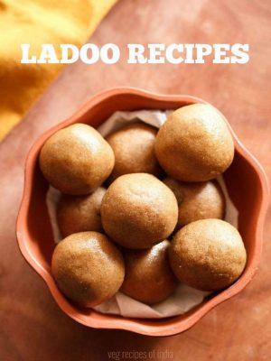 ladoo recipes, laddu recipes