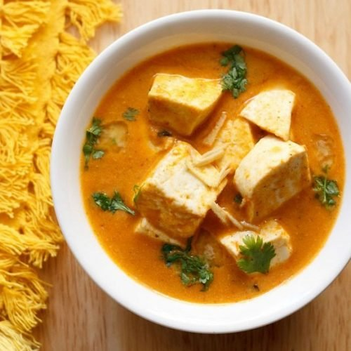 paneer butter masala recipe without onion and garlic