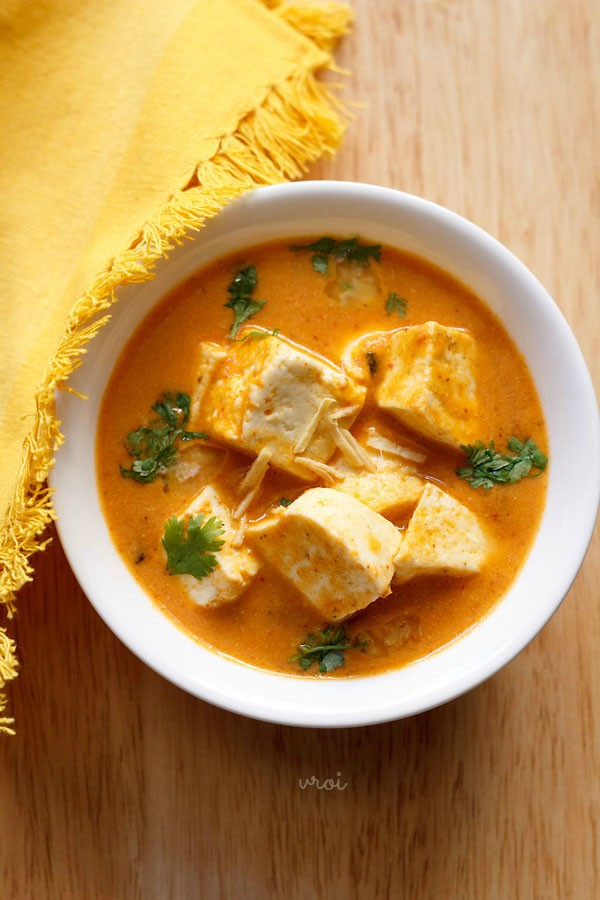paneer butter masala recipe no onion no garlic