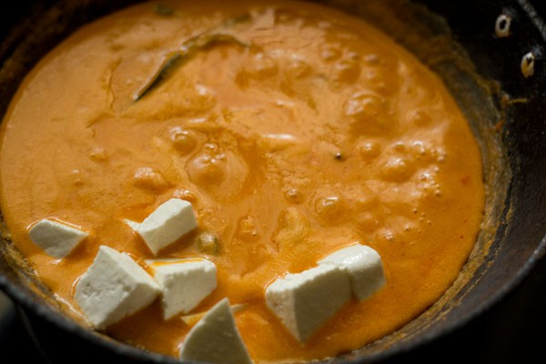 paneer for paneer butter masala recipe