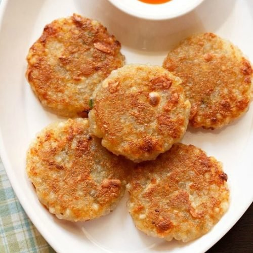 sabudana tikki recipe, sabudana cutlet recipe