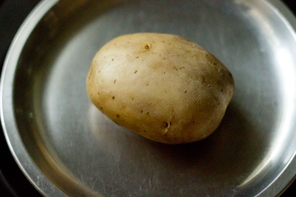 potato for sabudana tikki recipe