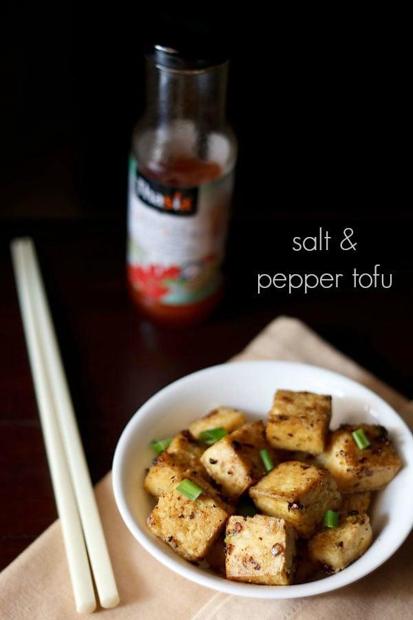 salt and pepper tofu recipe, chinese salt and pepper tofu recipe