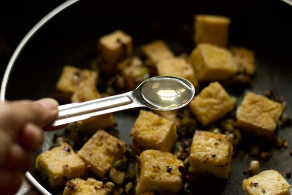 vinegar for salt and pepper tofu recipe