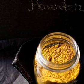 sambar powder recipe, sambar podi, sambar masala, sambar powder