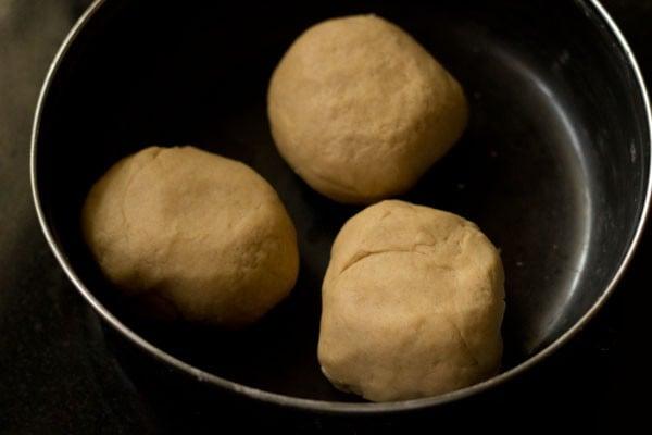 dough for shakkar pare recipe