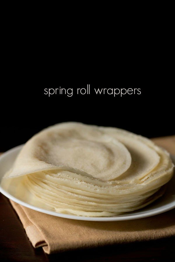 spring roll wrappers recipe