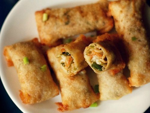 Image result for Spring roll