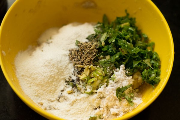 ingredients for suran vada recipe