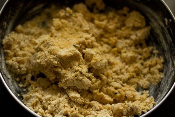 dough for aloo sev recipe