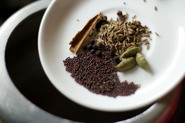 spices for beetroot pulao recipe