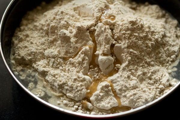 flour for cabbage paratha recipe