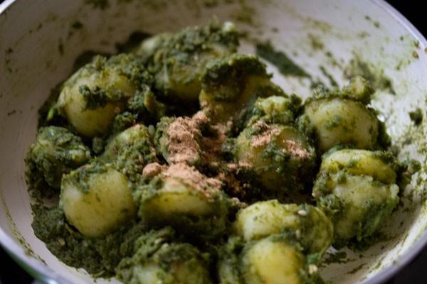 making chutney wale aloo recipe
