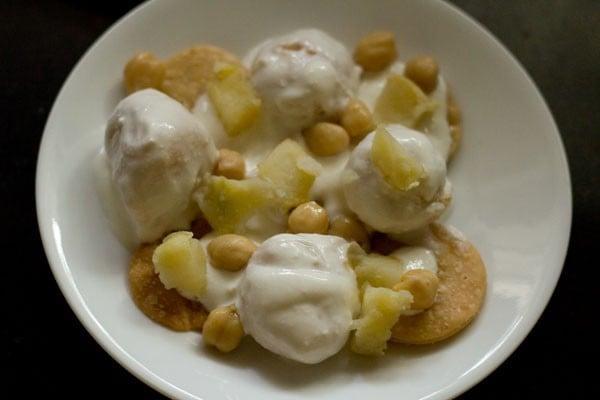 potatoes for dahi bhalla recipe
