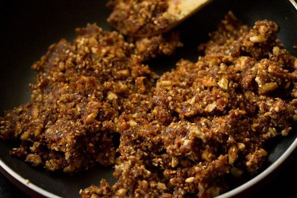 making dry fruits barfi recipe