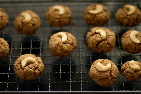 eggless whole wheat coconut cookies recipe