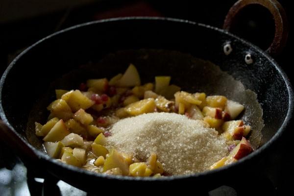 sugar for fruit kesari recipe