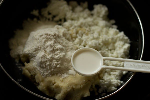 dough for sukha gulab jamun recipe