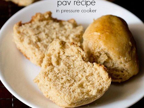 pav recipe in pressure cooker