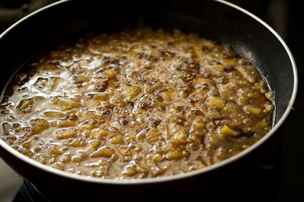 making pineapple payasam recipe