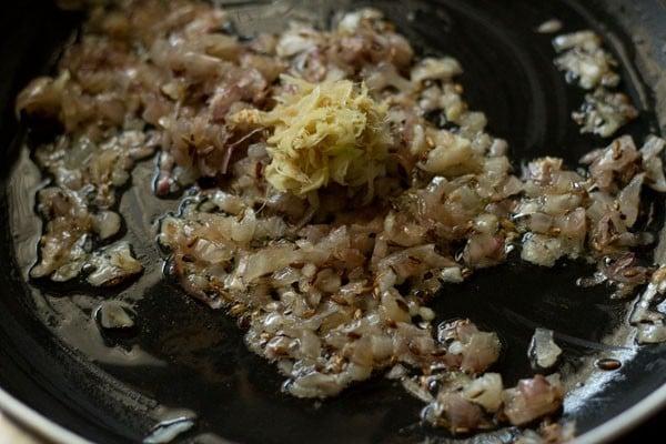 making cabbage potato recipe