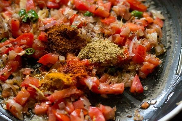 spices for aloo patta gobhi recipe