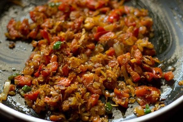 making aloo patta gobhi recipe
