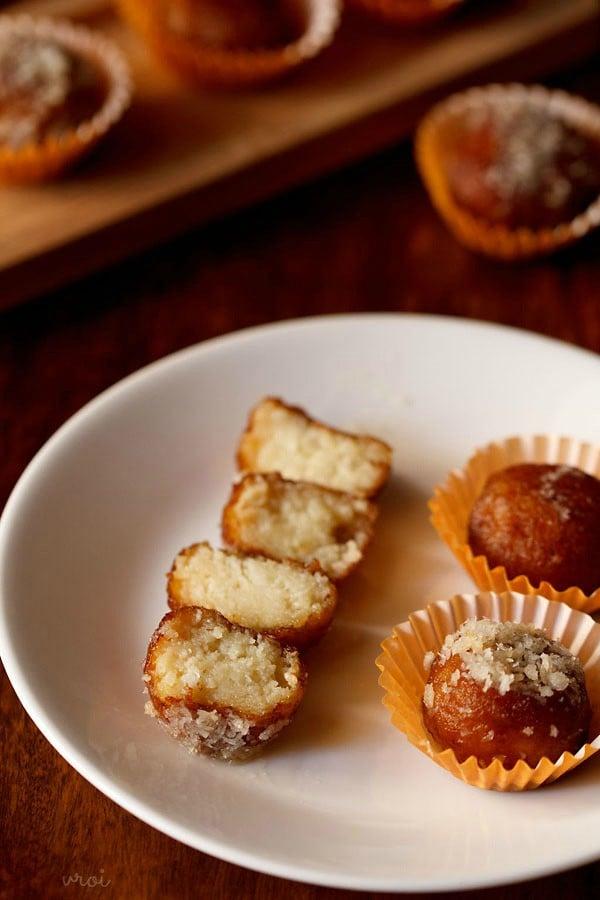 sukha gulab jamun recipe