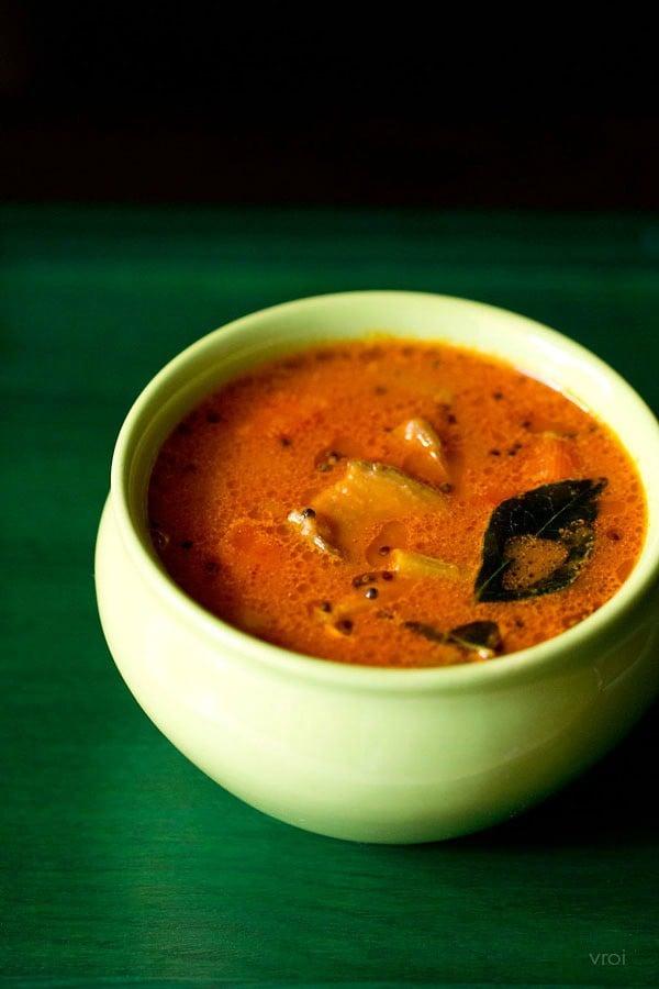 vegetable sambar recipe mangalore style