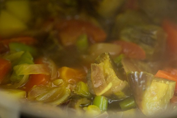 making mangalore vegetable sambar recipe