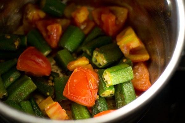 okra for okra sambar recipe