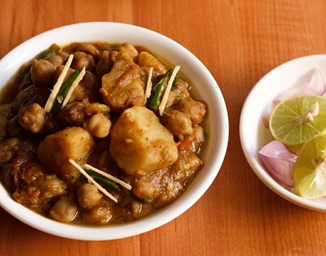 aloo chole recipe