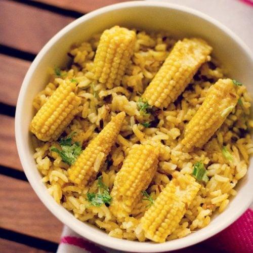 baby corn rice