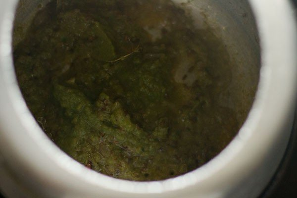 paste for baby corn pulao recipe