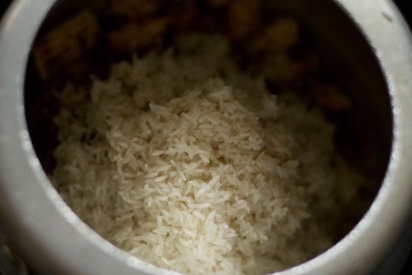 rice for baby corn rice recipe